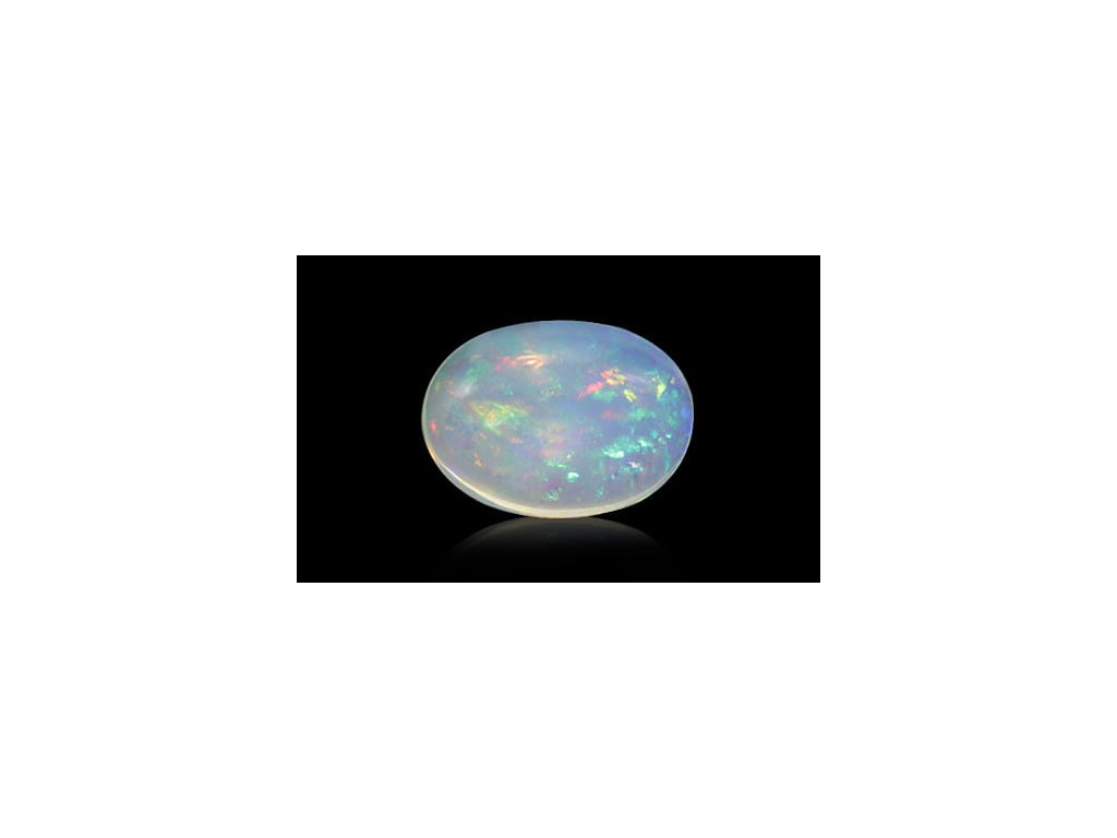 White Opal with Fire - 1.65 carats