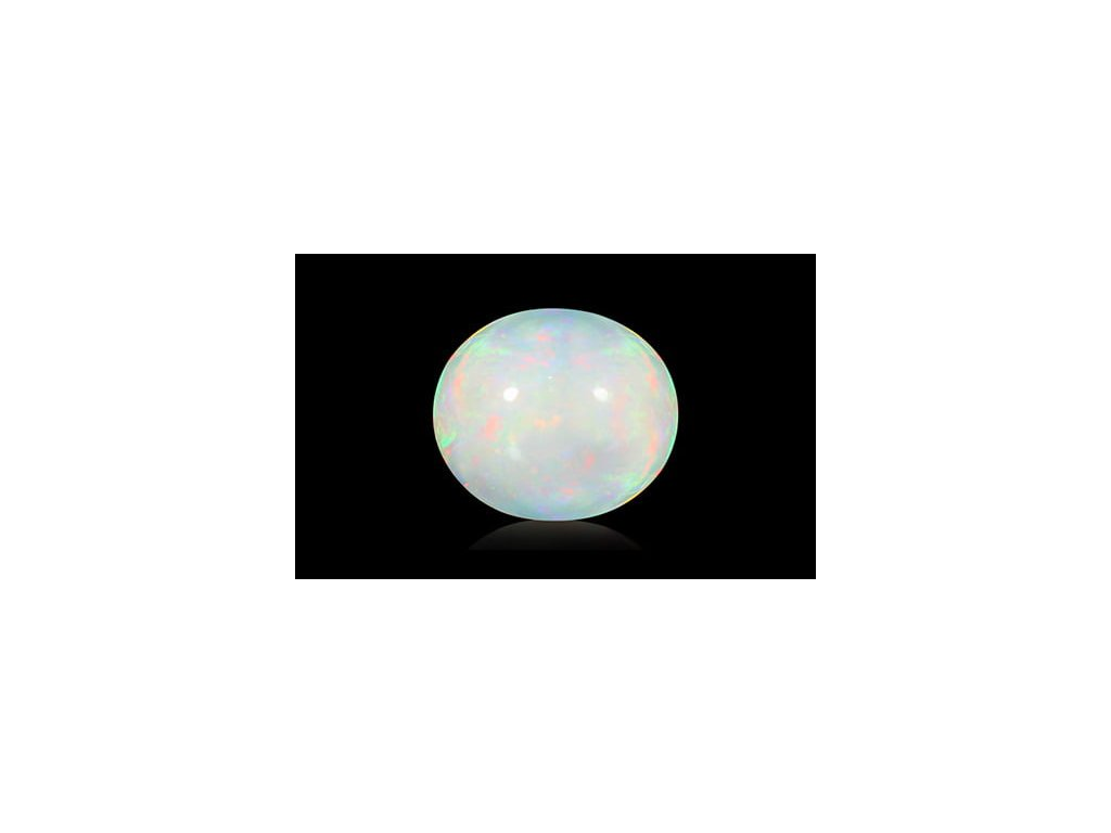 White Opal with Fire - 11.30 carats