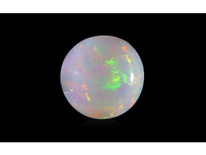White Opal with Fire - 1.62 carats