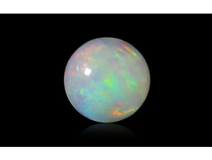White Opal with Fire - 1.58 carats