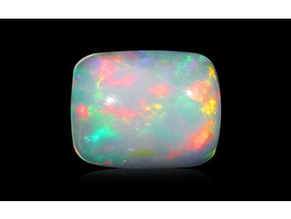 White Opal with Fire - 1.34 carats