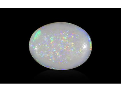 White Opal with Fire - 3.73 carats