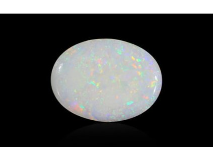 White Opal with Fire - 3.49 carats