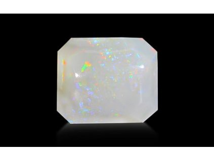 White Opal With Fire - 6.06 carats