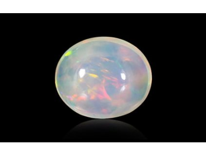 White Opal With Fire - 1.95 carats