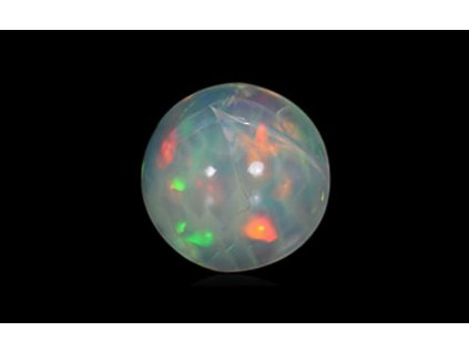 White Opal with Fire - 1.92 carats