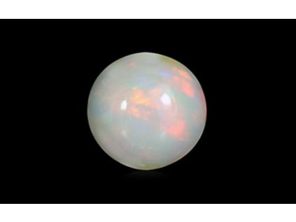 White Opal with Fire - 1.48 carats