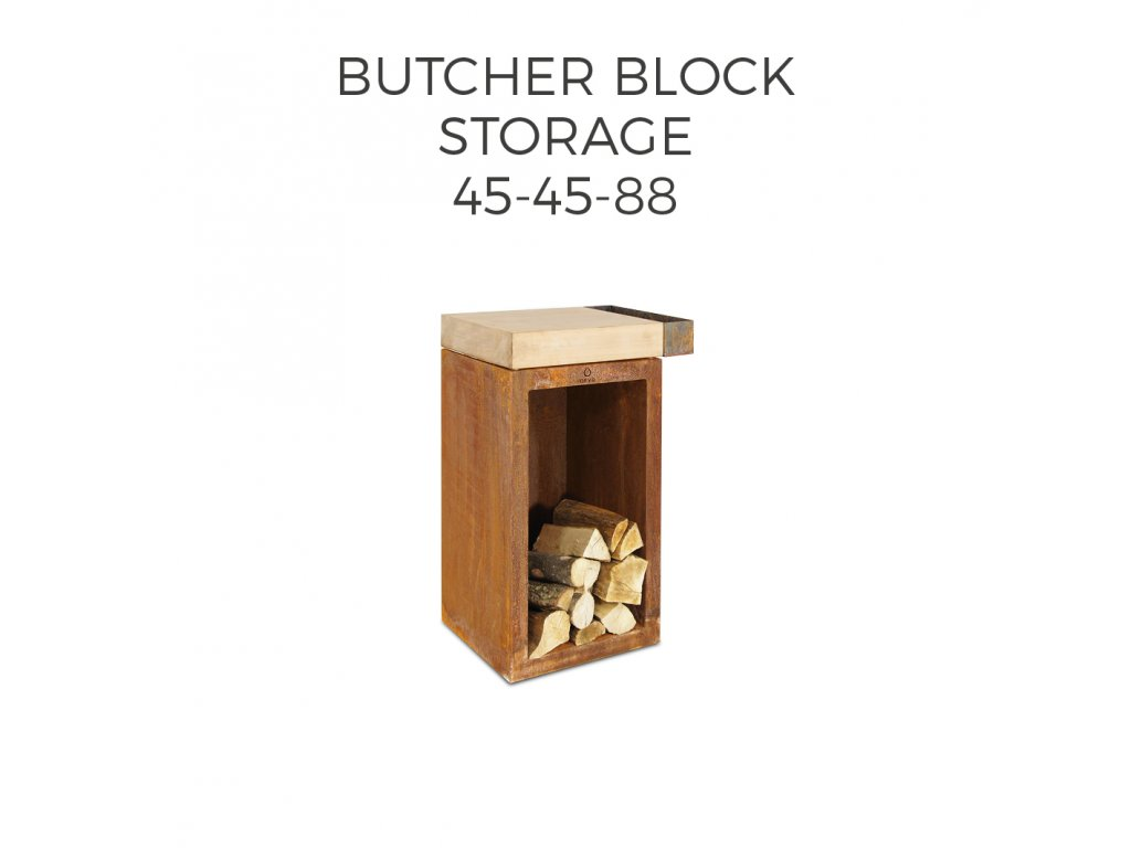 BUTCHER BLOCK STORAGE 4545