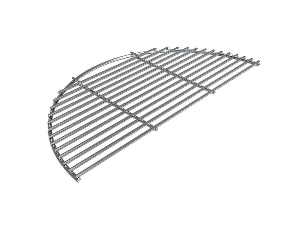 vierkant stainless steel half grid 800x800