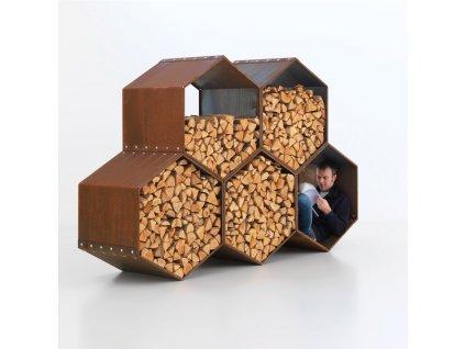 WoodBee stojan na dřevo