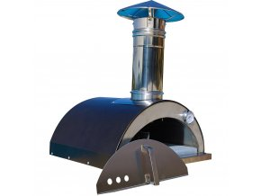 hammered copper necessories outdoor pizza ovens nonno lillo r 64 1000