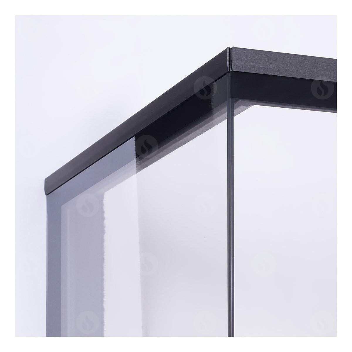 Romotop - HEAT C 2g L 50.52.31.01(21) - výsuvná dvířka Materiál: dělené sklo