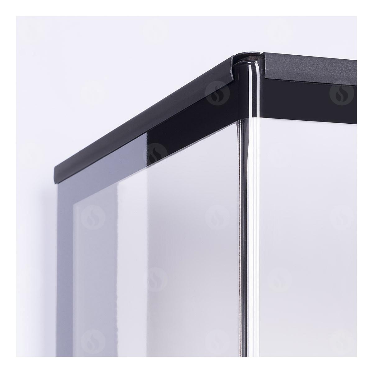 Romotop - HEAT C 3g L 65.52.31.01(21) - výsuvná dvířka Materiál: ohýbané sklo