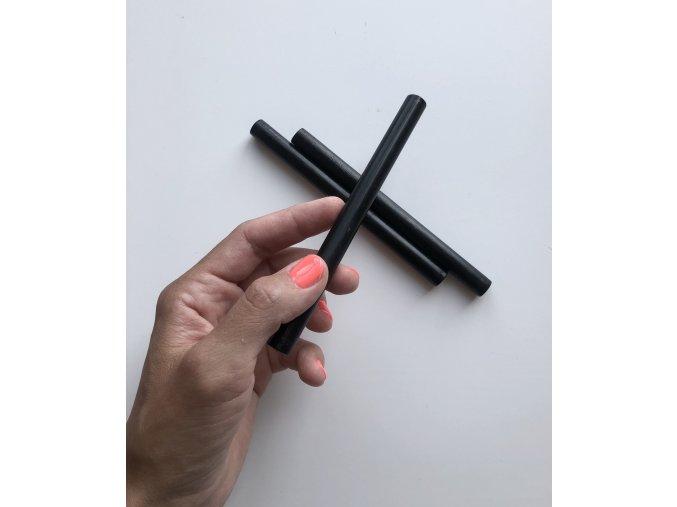 Pečetní vosk 13,5 cm - Černá
