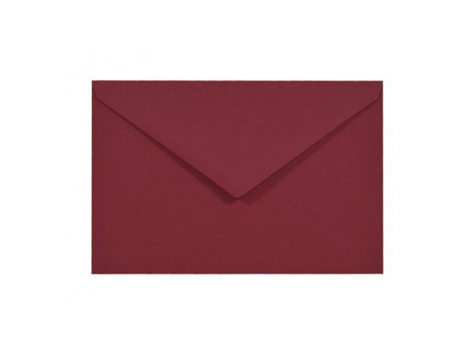 obálka tmavě červená c6 110 g nk