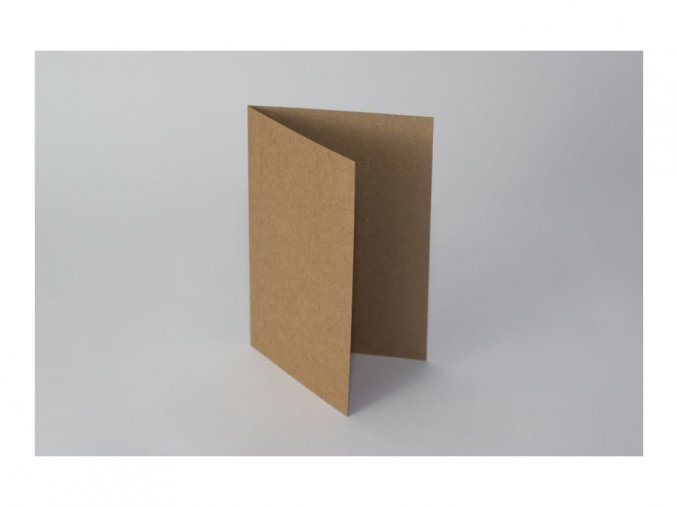 kraft A5 otevirací karta