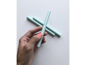 Pečetní vosk 13,5 cm - Pastelová zelená