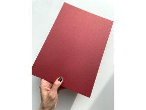 Papír A4 300g - Metalická Bordó