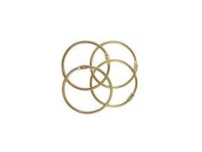 Spojovaci kouzky zlata 50 mm 4ks