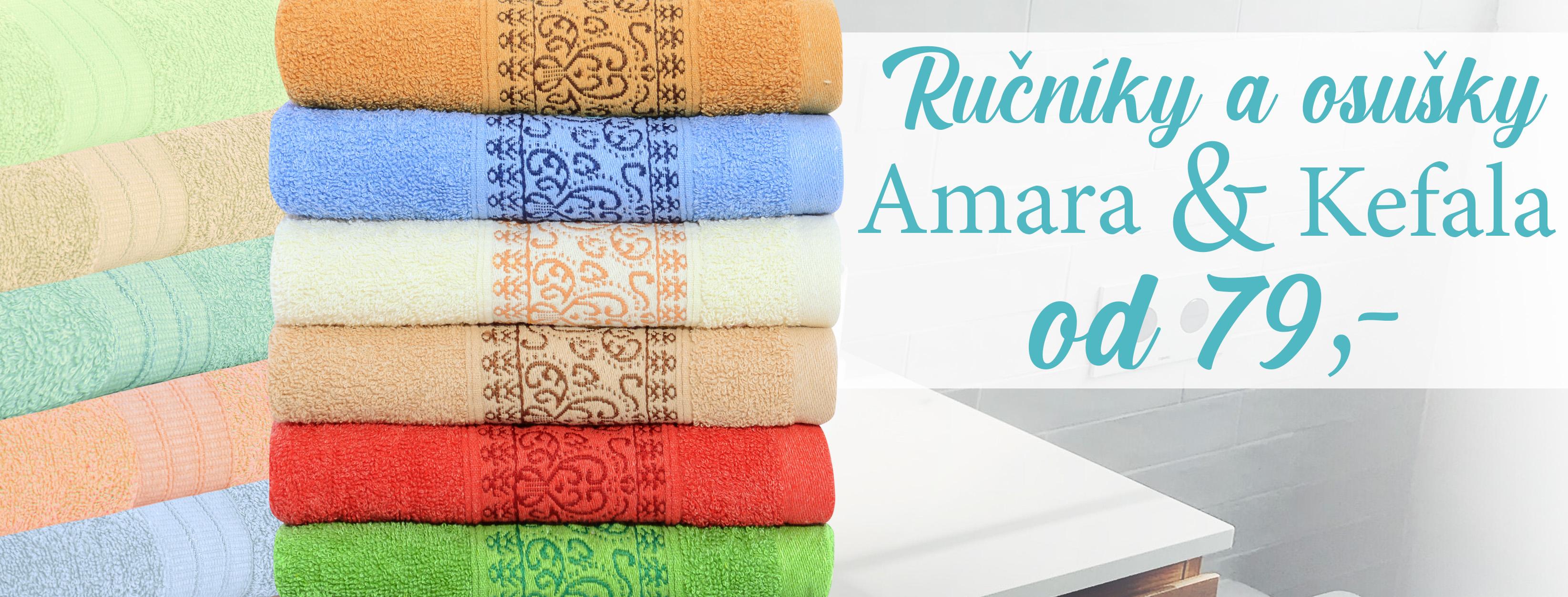 Kefala Amara ručníky osušky