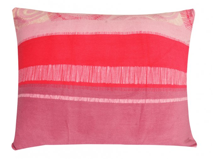 Povlak na polštář mikroplyš 70x90 cm TOLEDO fialový