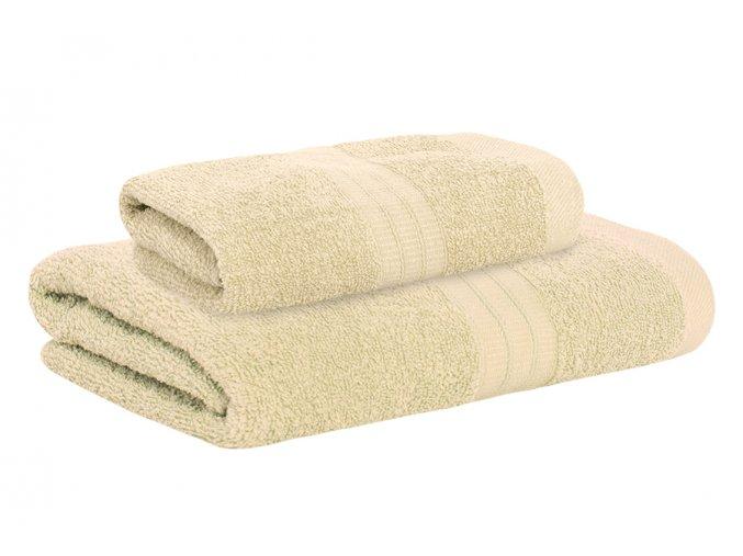 Set ručníku a osušky AMARA béžový