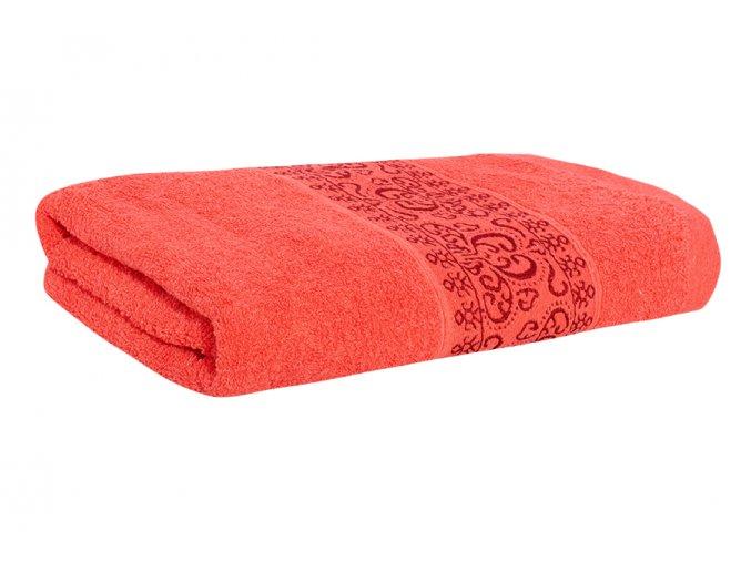 Osuška KEFALA červená