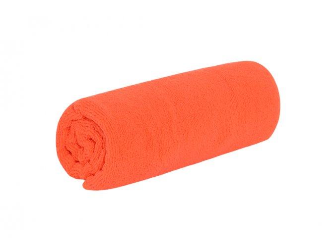 Rychleschnoucí ručník TOP oranžový
