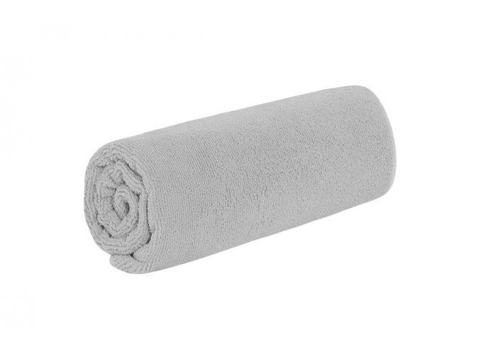 Rychleschnoucí ručník TOP světle šedý