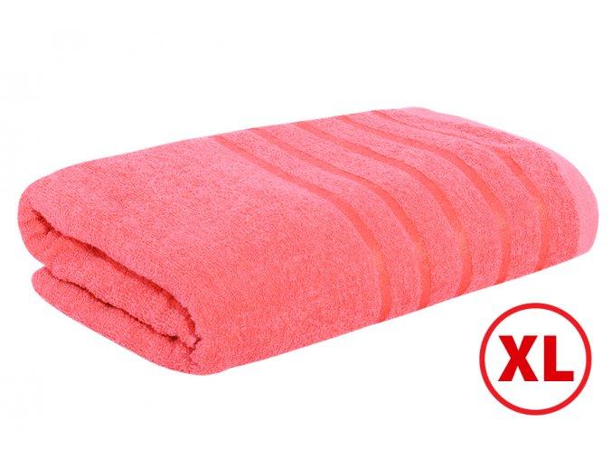 Maxi osuška STRIPA červená