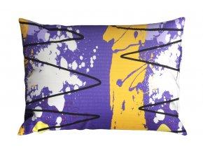 Krepový povlak na polštář RENFORCÉ 70x90 cm MIDELA fialový