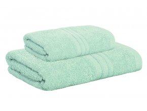 Set ručníku a osušky AMARA tyrkysový