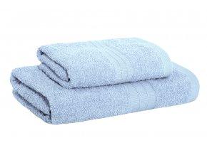 Set ručníku a osušky AMARA modrý