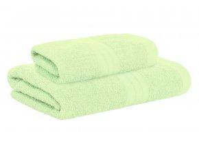 Set ručníku a osušky AMARA mint