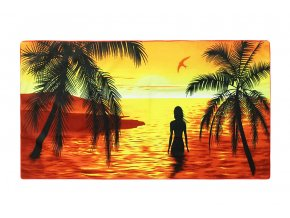 Plážová osuška ZÁPAD SLUNCE
