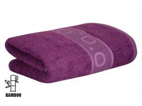 Bambusový ručník KORAL fialový