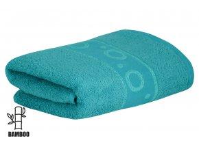 Bambusový ručník KORAL tyrkysový