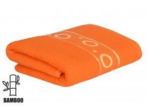 Bambusový ručník KORAL oranžový