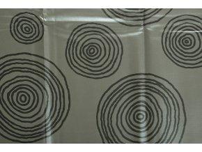 PVC ubrus STUMA šedý 140x200 cm
