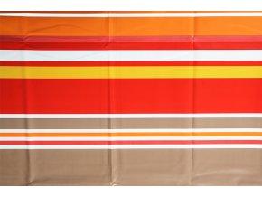 PVC ubrus STREPA oranžový 140x200 cm