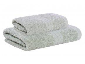Set ručníku a osušky AMARA šedý