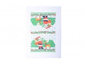 Vánoční ručník SANTA