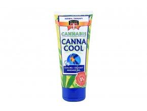 Konopný masážní gel chladivý 200 ml