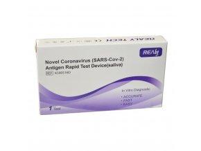 Antigenní test ze slin (SARS-CoV-2)