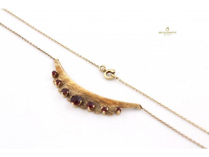 Zlatý náhrdelník 6.09g