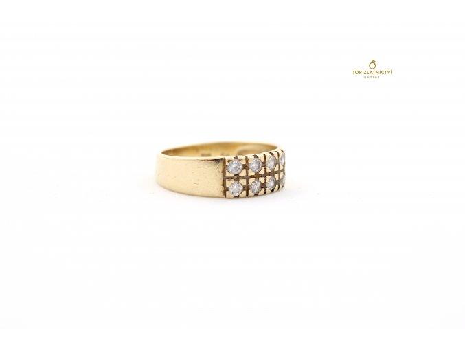 Zlatý prsten 3.69g