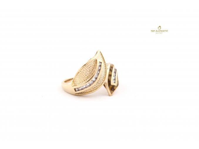 Zlatý prsten 5.53g
