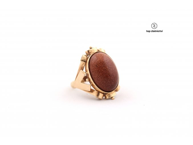Zlatý prsten 6.37g