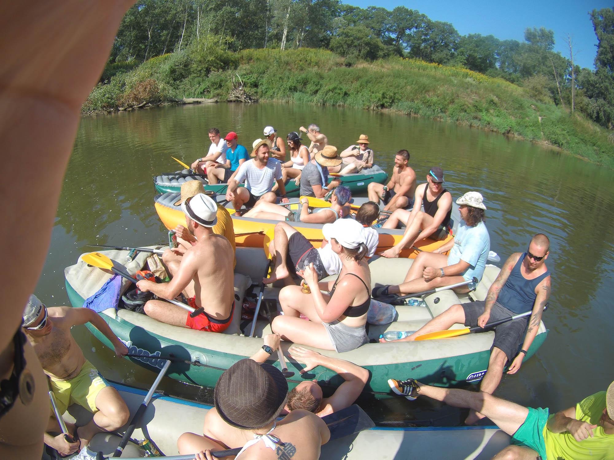 Užili jsme si to ve vodě i na souši