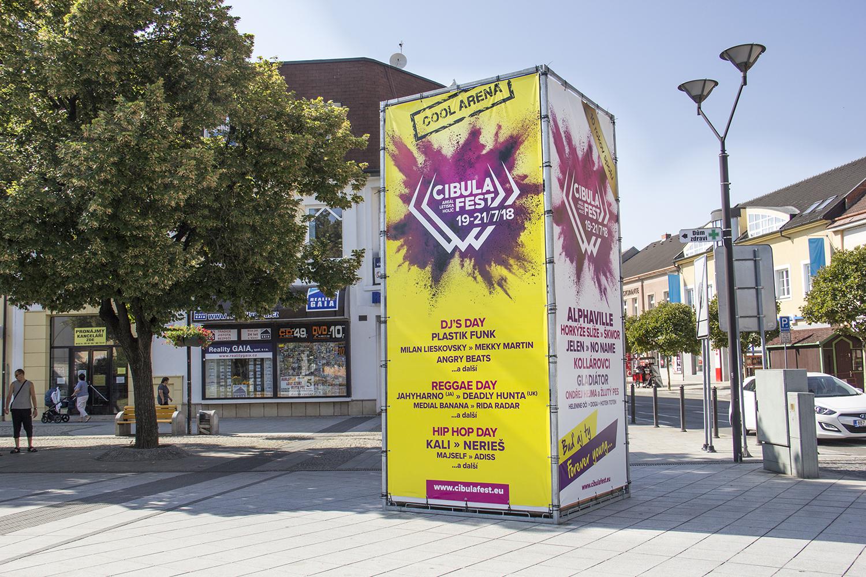 Už jste viděli náš nový reklamní stojan do exteriéru HYPERCUBE?